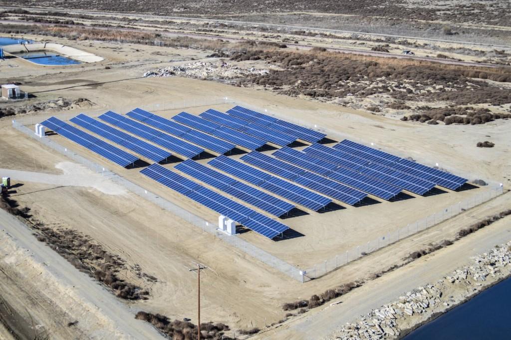 Water Treatment Plant 400 kW Huron, California